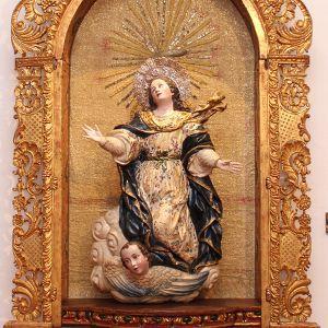 Arte Barroco Asuncion De La Virgen Al Cielo Bernardo De Legarda