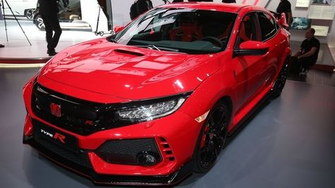 2018 Honda Civic Type R: Geneva 2017 Photo Gallery | Honda Civic, Geneva  And Honda