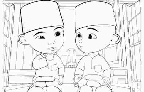 Upin Ipin Coloring Picture Coloring Pages Animal Coloring Pages
