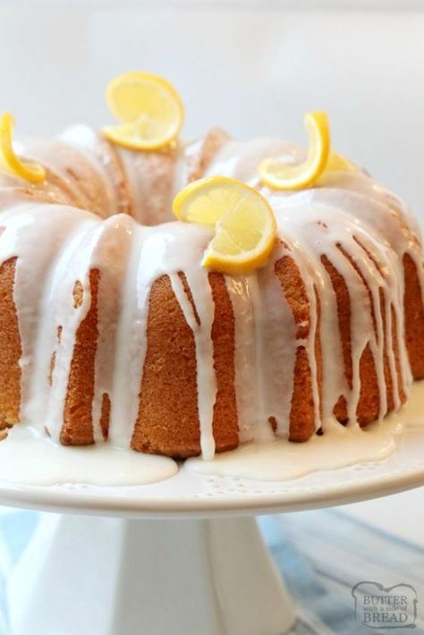 Lemon Buttermilk Pound Cake Is A Classic Pound Cake Recipe With The Addition Of Fresh Lemon Pound Cake Recipe Lemon Buttermilk Pound Cake Buttermilk Pound Cake