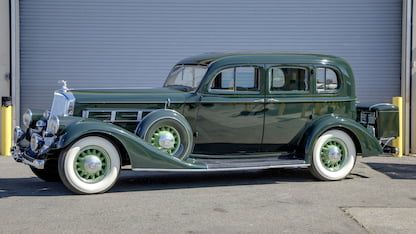 1935 Pierce Arrow Eight Sedan Sedan Collector Cars Classic Cars