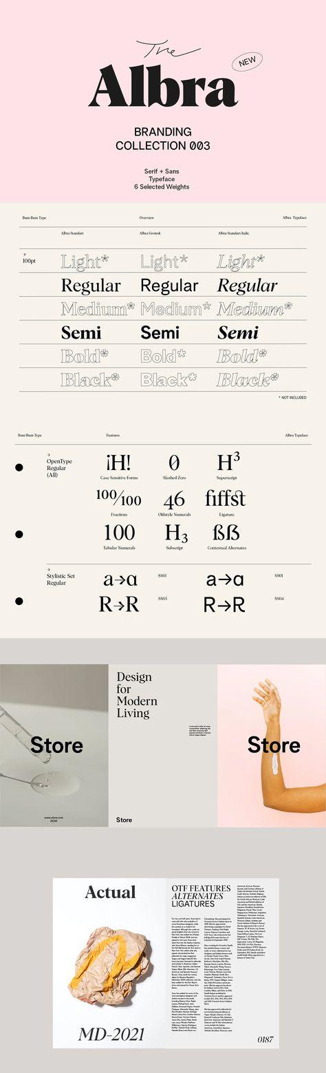 The Albra Branding Font Collection