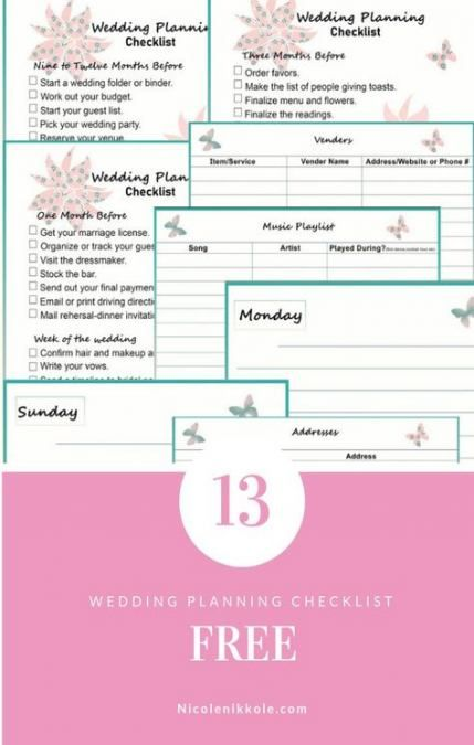 18 Ideas How To Plan A Wedding Parties Wedding Planning Wedding Planning Tips Wedding Planning Guide