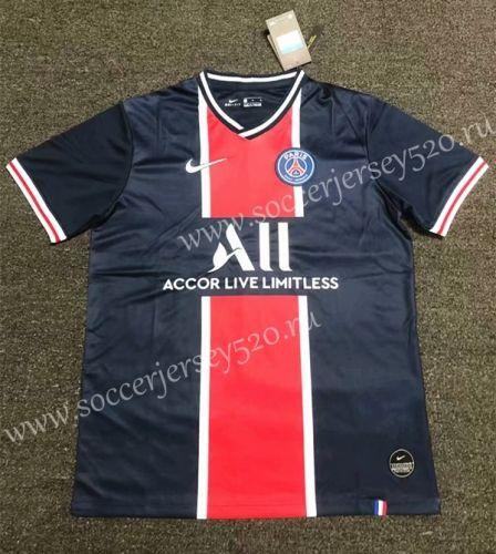 2020 2021 Paris Sg Home Blue Thailand Soccer Jersey Aaa 407 Soccer Jersey Soccer Jersey