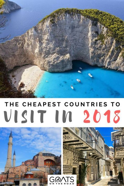 Top 10 Cheapest Countries To Visit In 2018 Low Budget Travel Affordable Travel Travel Destinations Affordable Countries To Visit Budget Travel Destinations