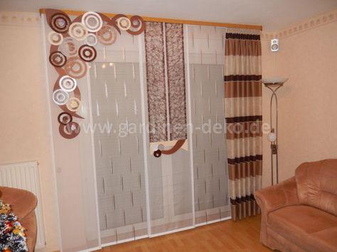 Wohnzimmer Vorhang im beliebten asymmetrischen Design - http\/\/www - design gardinen wohnzimmer