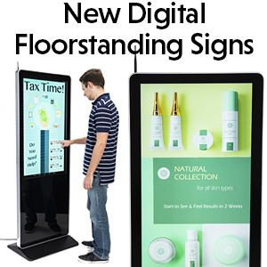 Digital Signs And Electronic Advertisement Players Are One Of The Most Modern And Exciting Advancements In Marketi Signage Display Signage Marketing Technology