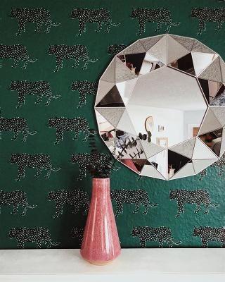 Panther Peel Stick Wallpaper Green Opalhouse In 2021 Peel And Stick Wallpaper Neutral Furniture Wallpaper