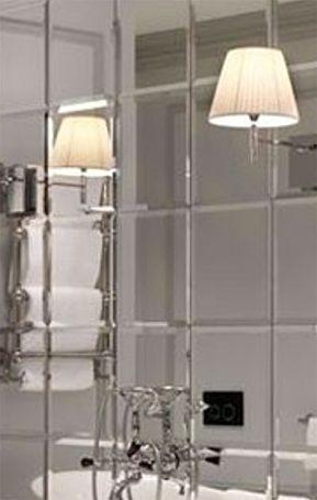 My Furniture 6x Grosse Fliesen 30 X 30 Wandfliesen Aus Glas Abgeschraegt Fuer Badezimmer Oder Kueche Grosse Fliesen Wandkachel Fliesen