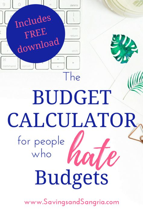 Más de 25 ideas increíbles sobre Budget calculator en Pinterest - wedding budget calculators
