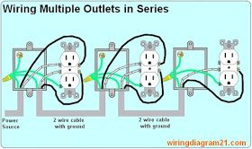 how to wire multiple outlet in serie lectrical wiring Electrical Wiring Multiple Outlets