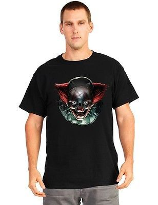Mens #digital dudz #freaky clown eyes #halloween t-shirt fancy dress
