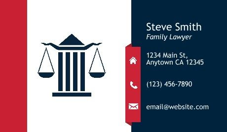 50 best legal business card templates images on pinterest general legal business cards law reheart Choice Image