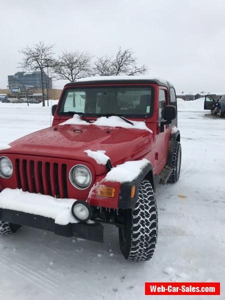 Jeep Wrangler Sport 4x4 Jeep Wrangler Forsale Canada