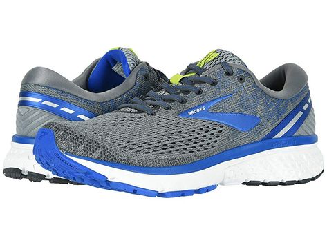 99bd44049d8 Brooks Ghost 11 Men s Running Shoes Grey Blue Silver in 2018 ...