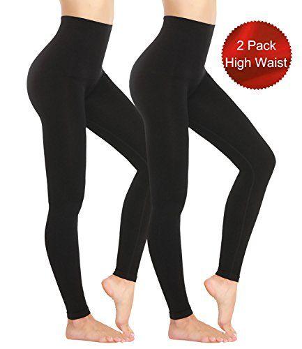 order online on feet shots of skate shoes LANFEI Womens High Waist Tummy Control Slimming Leggings ...