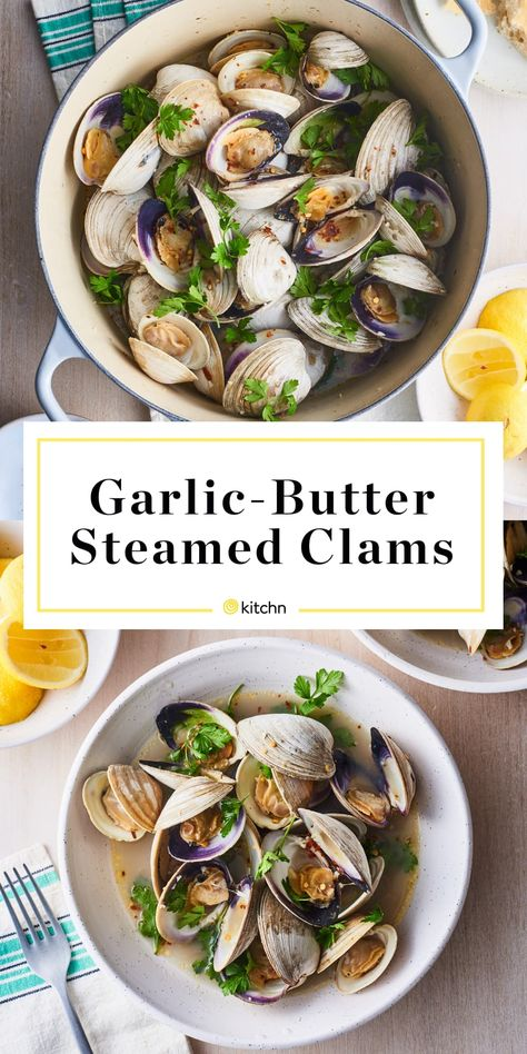 Garlic Butter Steamed Clams Are Ready in 20 Minutes