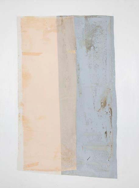 Erik Lindman, 'Willow, rose, bark', Oil, Satin, Emulsion on Cotton, 121.9 x 91.44 cm