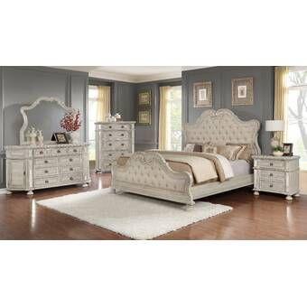 One Allium Way Adorno Standard Configurable Bedroom Set Wayfair In 2020 5 Piece Bedroom Set Bedroom Set Bedroom Sets Queen