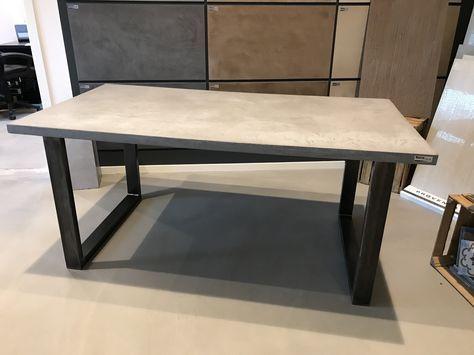 Pin Von Fabelwesen Auf Diy Tisch Selber Bauen Betontisch Esszimmer Und Beton Cire