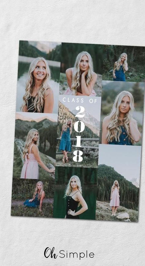 Photo Collage Graduation Invitations senior photos senior photography class of 2018 graduation party invitations graduation announcements senior pictures Senior Announcements, College Graduation Announcements, College Graduation Parties, Senior Photography, Graduation Photography, Photography Ideas, Senior Graduation Invitations, Graduation Photoshoot, Grad Invites