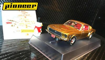 Details About Pioneer Santa S Stang Gold 1968 Ford Mustang 390