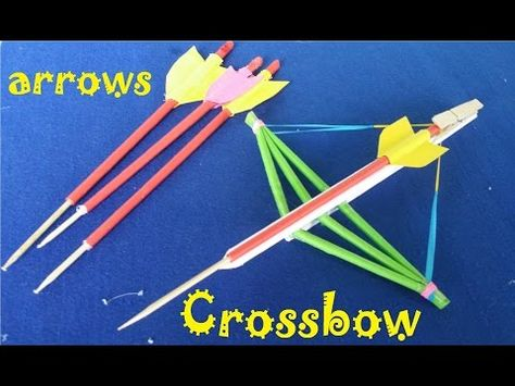 How to make a crossbow out of paper easy