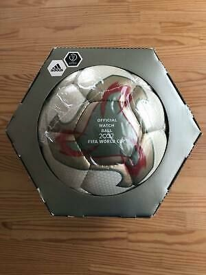 Fifa World Cup 2002 Tournament Official Ball Adidas Fevernova Size 5 F S Japan In 2020 Fifa World Cup World Cup Fifa