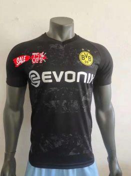Borussia Dortmund 19 20 Wholesale Away Player Version Cheap Soccer Jersey Sale O746 Soccer Shirts