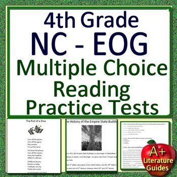 photo regarding Printable 3rd Grade Eog Reading Practice Test identify 4th Quality NC EOG Check out Prep Looking through Opinions North