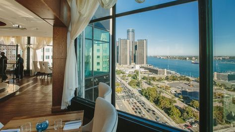 These 9 Detroit Restaurants and Bars Have Stunning Views - Eater Detroit