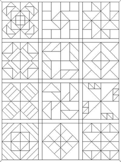 Free Coloring Pages Of A Quilt Barn Quilt Patterns Painted Barn