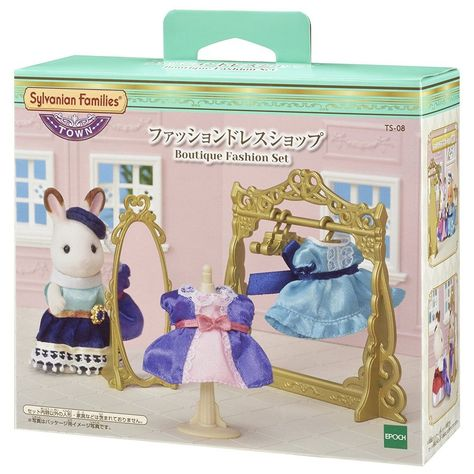 Calico Critters Town Violin Concert Set