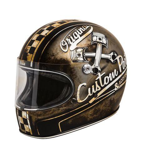 Casque Premier Trophy Op9bm Casque Moto Vintage Casque