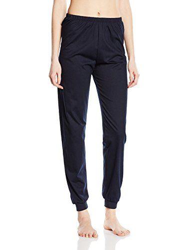 Schlafanzughose Bündchen schwarz | L | TRIGEMA