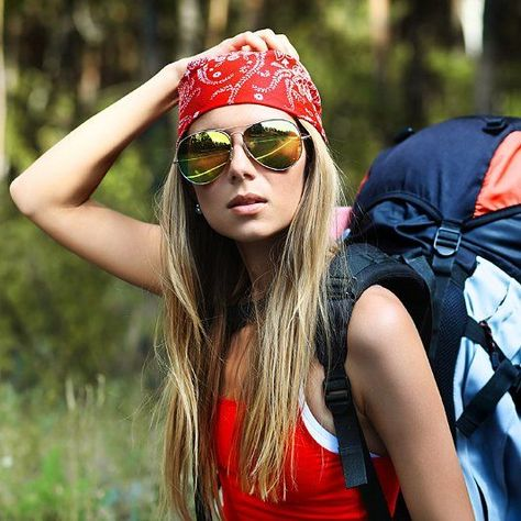 Glamping Guide: How to Stay Cute While Roughing It: Whether you're spending the weekend out in the fields at Bonnaroo or glamping (that's glam camping, if you haven't heard the slang), you can still look put-together.