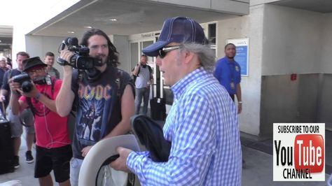 Dwight Yoakam talks about if he watches the VMA Awards at LAX Airport in...