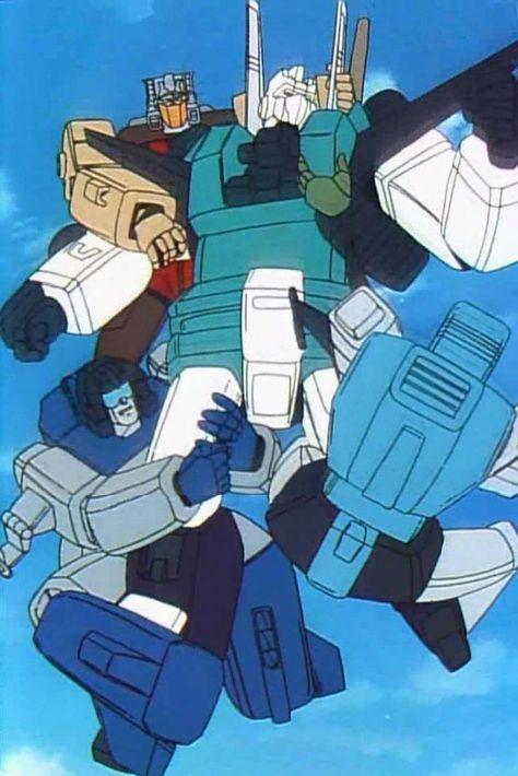 Transformers The Headmasters Chromedome Hardhead Highbrow And Brainstorm Vs Sixshot From Operation Des Original Transformers Transformers Transformers G1