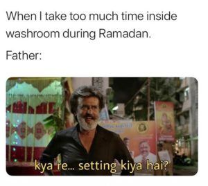 When You Spend Too Much Time In Bathroom During Ramadan In 2020 Friendship Quotes Funny Crazy Funny Memes Funny Relatable Memes