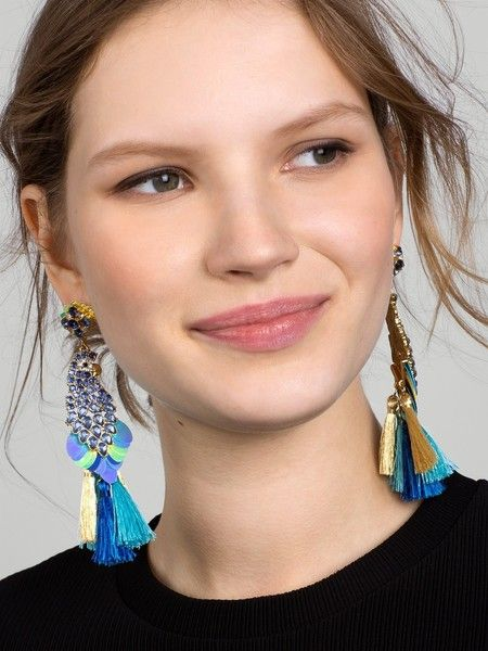 Macaw Drop Earrings - Statement Earrings to Spice Up Any Outfit - Photos