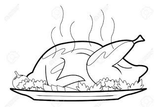 Fried Chicken Fast Food Coloring Page For Kids With Images