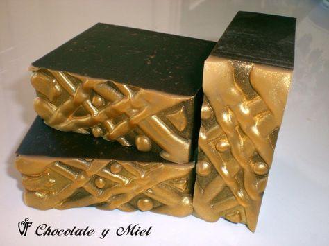 Jabones de chocolate y miel