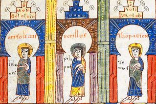 The heavenly Jerusalem, detail