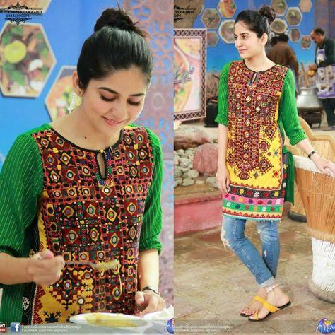 60 Best Sanam Baloch Dresses In Black, White, Blue, Red, Pink