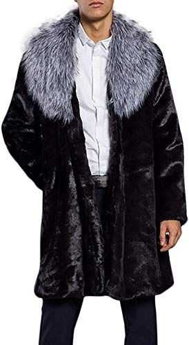 Mens Winter Coats Clearance, Forthery Men's Wool Blend Full