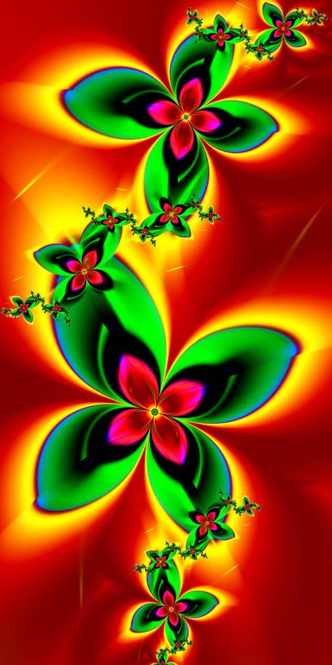 Summer Flowers by EsmeraldEyes
