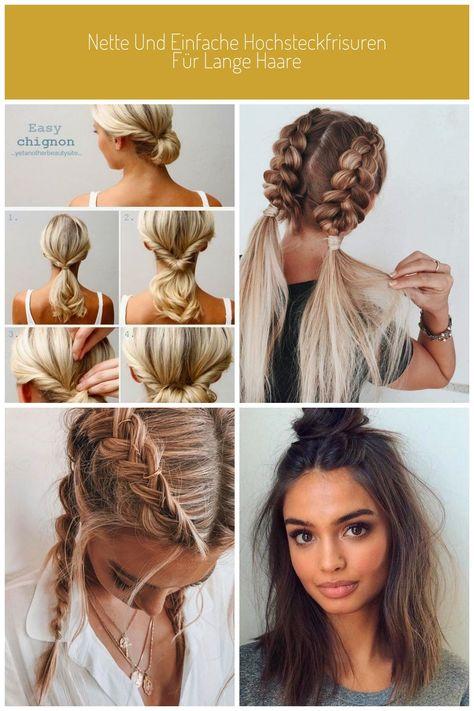 Schnelle frisuren fur lange haare mit haarband