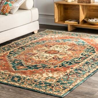 Korhonen Orange Area Rug In 2020 Orange Area Rug Area Rugs Rugs