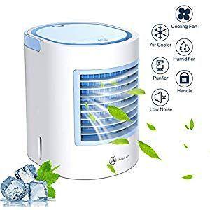 Mobiles Air Cooler Klimagerät Luftkühler Befeuchter Fan Air Purifier Netzstecker