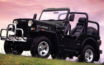The Mahindra Jeep Of India Mahindra Jeep Classic Jeeps Jeep Cars